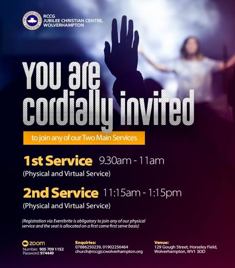 Two services poster